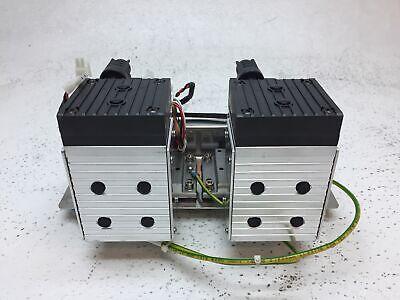 Used Knf Neuberger Mpu 2381-n828-11.09 Mini Diaphragm Vacuum Pump Pulled