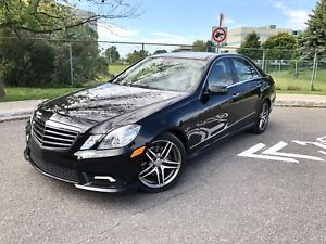 2010 Mercedes E350 4Matic AMG 1 yr warranty Financing Trades