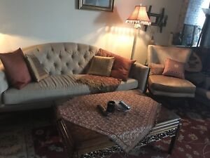 FURNITURE SALE (couches, chairs, coffee tables, lamps)
