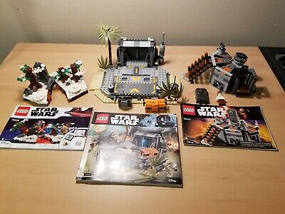 Lego Star Wars lot #75171, #75137, and #75236 w/free shipping
