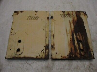 Case 400 600 Tractor Side Panels