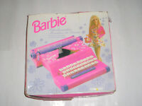 BARBIE CHILDS TYPEWRITER RIBBON *FULLY INKED* FOR MACHINES WITH ORIGINAL SPOOLS*