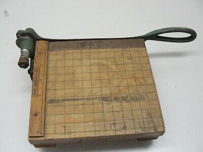 Small Vintage Sears Roebuck Co. Paper Cutter 7 X 6 12