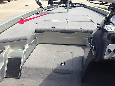 "*Triton/Ranger/Nitro/Stratos*Bass Boat Replacement Carpet Edging Trim 1/2"" X 20'"