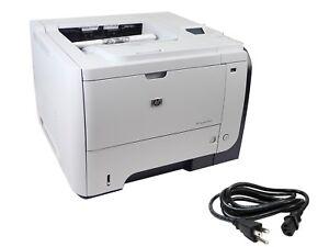 MINT 4 Pages! HP LaserJet Enterprise P3015DN Laser Printer CE528A w/ 100% Toner