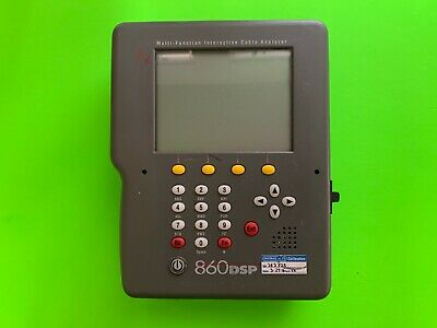 Trilithic 860 Dsp Multi-function Cable Analyzer Catv Meter 860dsp Cable Tester
