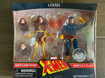 Marvel Legends Dark Phoenix Cyclops 2-pack Toys R Us Exclusive, U.S., Sealed