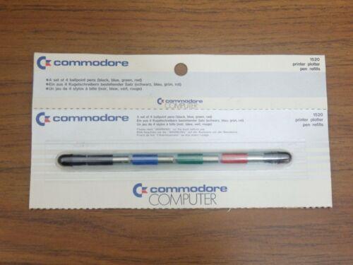 Commodore pen refills for printer plotter 1520 *New Old Stock*