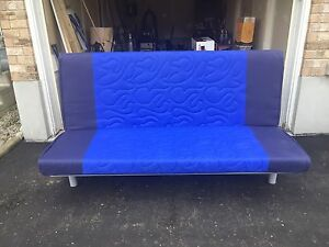Futon / three seat sofa bed / pull out couch