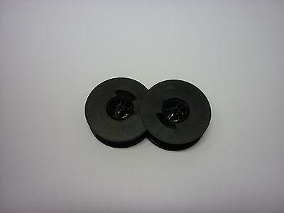 Olivetti Lettera 25 Typewriter Ribbon Black Twin Spool Pack Of Three