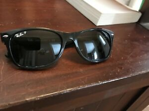 POLARIZED BLACK NEW WAYFARER SUNGLASSES