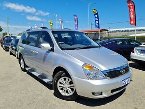 2013 Kia Carnival VQ MY13 S Silver 4 Speed Automatic Wagon Petrol 8 Seater Cannington Canning Area Preview