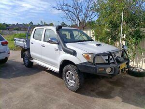 2008 Toyota Hilux Sr5 (4x4) 5 Sp Manual Dual Cab P/up
