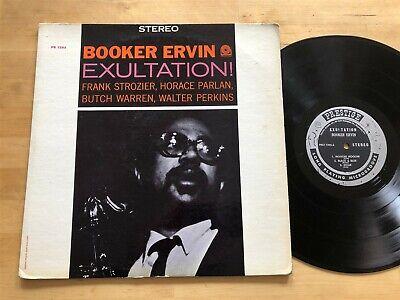 Booker Ervin - Exultation! Prestige Stereo Orig Horace Parlan Frank Strozier RVG