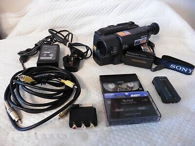 Sony Handycam Vision CCD-TRV15E PAL Video8 XR 8mm Analog Camcorder Video camera
