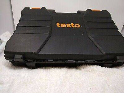 Testo 550 Digital Manifold Kit With Set Of 2 Hoses In Case Pre Owned