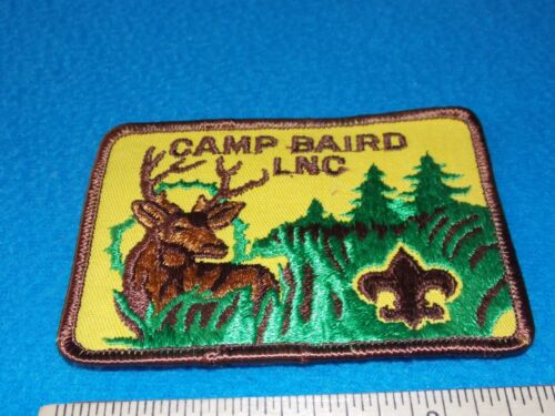 Vintage -Lefeber Northwoods Milwaukee County Baird LNC MCC Boy Scouts Camp Patch