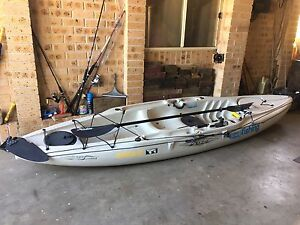 Hobby kayak - Mirage Outback - As New - with accessories Sutherland Sutherland Area Preview