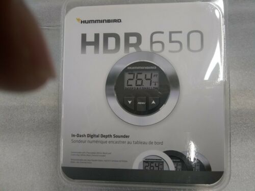 Humminbird HDR 650 INDASH DEPTH FINDER NEW