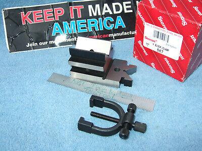 Starrett V-block No. 567 Toolmakers Usa Machinist Inspection Mill Grinder Clean