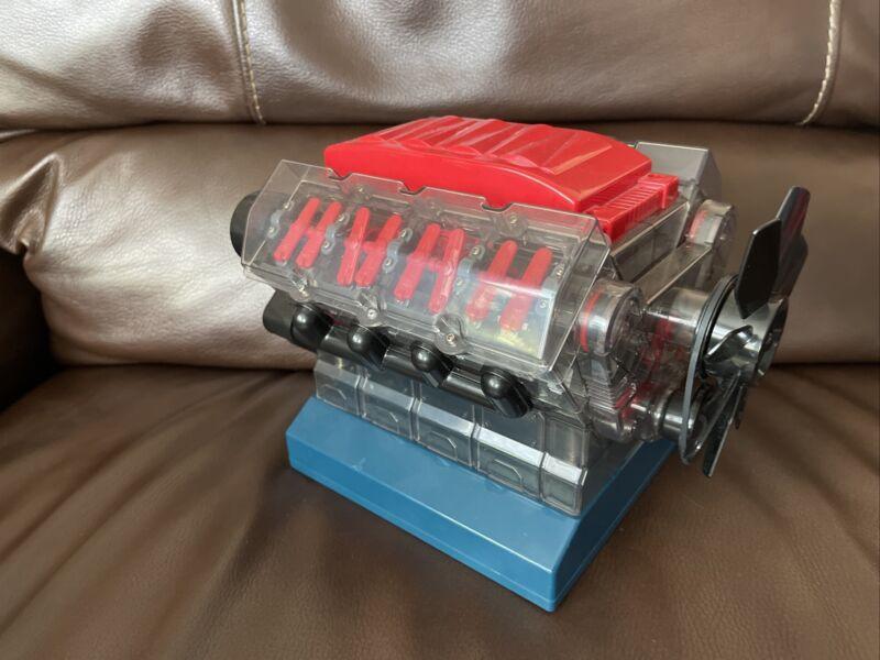 Playz V8 Combustion Engine Model Building Kit STEM Hobby Toy for Kids