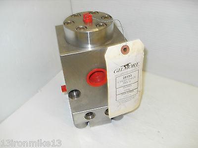 New Gilmore 25153 1 Pilot Check Valve Stainless Steel 6000 Psi