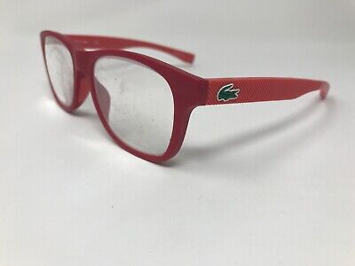 LACOSTE Petite Eyeglasses Frame Womens Youth L3620 615 48-16-130 Matte Red (Lacoste Womens Glasses)