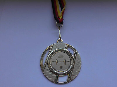 Medaillen Angeln Pokal Kids Medaillen 50mm mit Deutschland-Bändern Turnier Emblem Pokale
