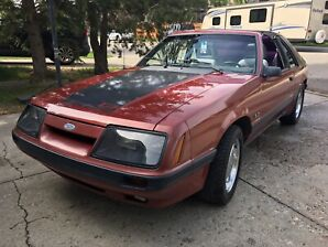 1985 Mustang GT with T Tops