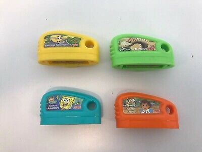 Fisher Price Smart Cycle Learning Game Cartridges Sponge Bob, Go Diego, Dino... Fisher Price Smart Cycle Cartridges