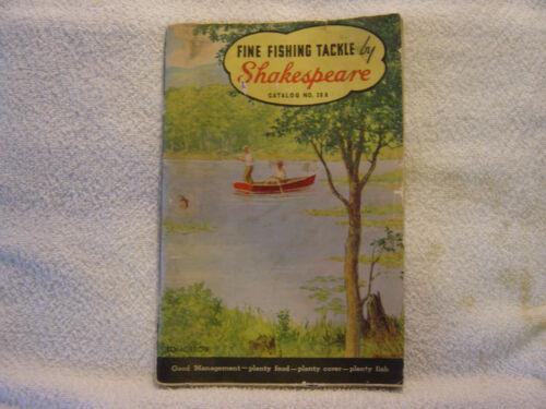 SHAKESPEARE FISHING TACKLE  1937  catalog No. 38 A