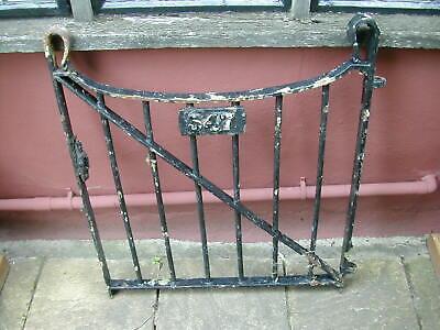 Gate wrought iron. Shepherds Crook
