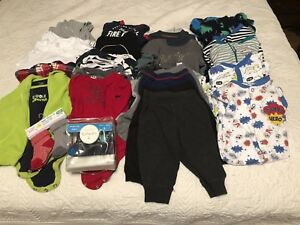 6-12 Month Baby Boy Clothing Lot - 34 pieces