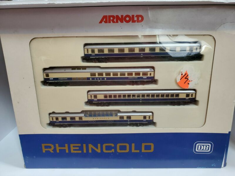 Arnold DB Rheingold  Passenger Set 0144 N Scale