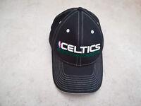 cappellino Boston Celtics nero scritta bianca NBA originale Adidas fd8d5e79081b