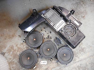Audi S4 (A4) B7 AVANT BOSE Sound System Speakers Amp Set [B6 B7 KYY] 8E9035382C