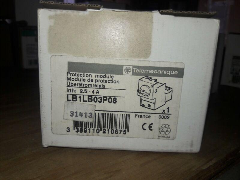 NEW TELEMECANIQUE LB1LB03P08 PROTECTION MODULE