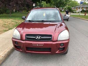 Hyundai Tucson 2007 manuel 5 vit
