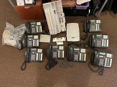 Nortel Norstar Cics 7.0 Office Phone System Callpilot 100 8 T7316 Phones