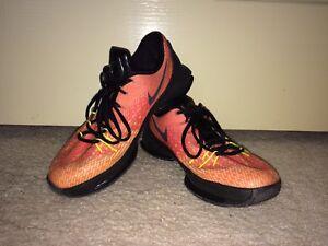 "premium selection 60ae7 d54ba Nike KD 8 Basketball Shoes ""Hunt s Hill Sunrise"""