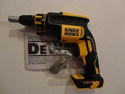 DEWALT DCF620B 20V 20 Volt MAX Li-Ion Brushless Drywall Screwdriver Drill w/Clip