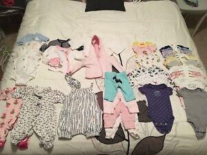 Newborn girls lot