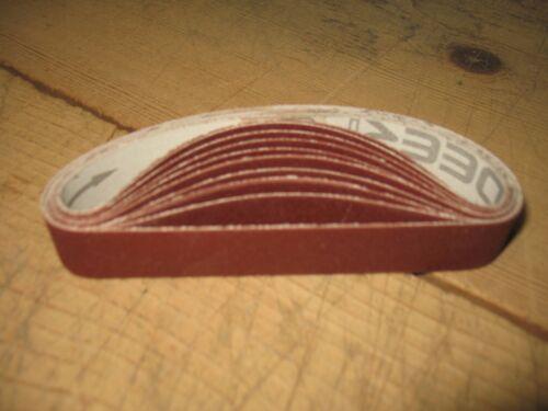 "10- 3/4 x 12"" 220 abrasive sanding belts for WSKO Ken Onion Knife Sharpener"