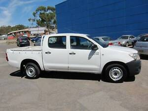 2009 Toyota Hilux Workmate Automatic Dual Cab Ute Fyshwick South Canberra Preview