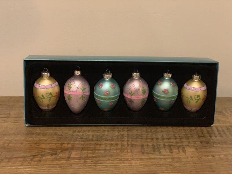 Nbc Trading Set Of 6 Easter Egg Ornaments