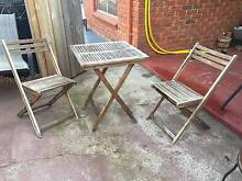 Outdoor Setting Table & Chairs (2) Glenorchy Glenorchy Area Preview