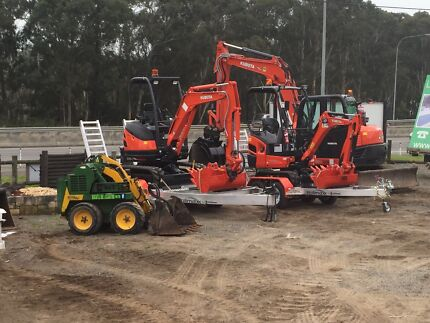 CHEAPEST HIRE $190 day Excavator Bobcat Tipper Dingo Kanga ****5706 Thornton Maitland Area Preview