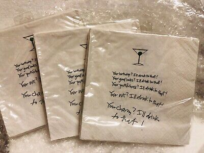 Recycled Paper Greetings Beverage Napkins