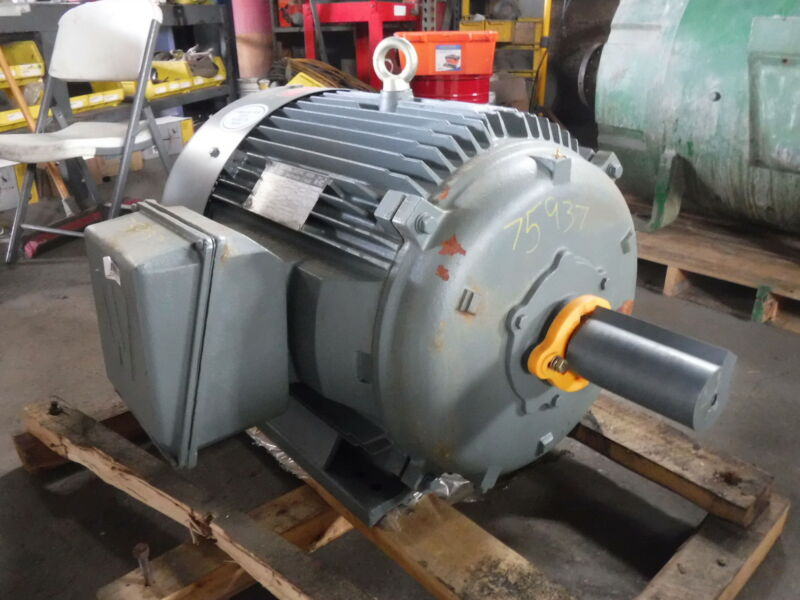 100 Hp Worldwide Electric Motor, 1800 Rpm, 404t 405t Frame, Tefc, 575 V, New