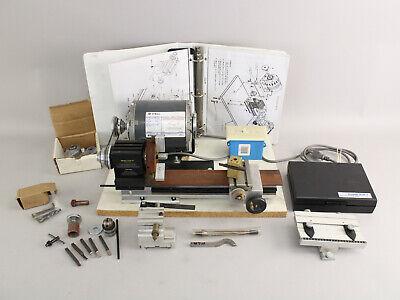 Otto Frei Micro Lathe Ii Model 4500 Tested Working Wmill Atachment More